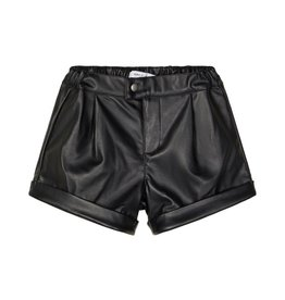 Omilas Short Leather Black