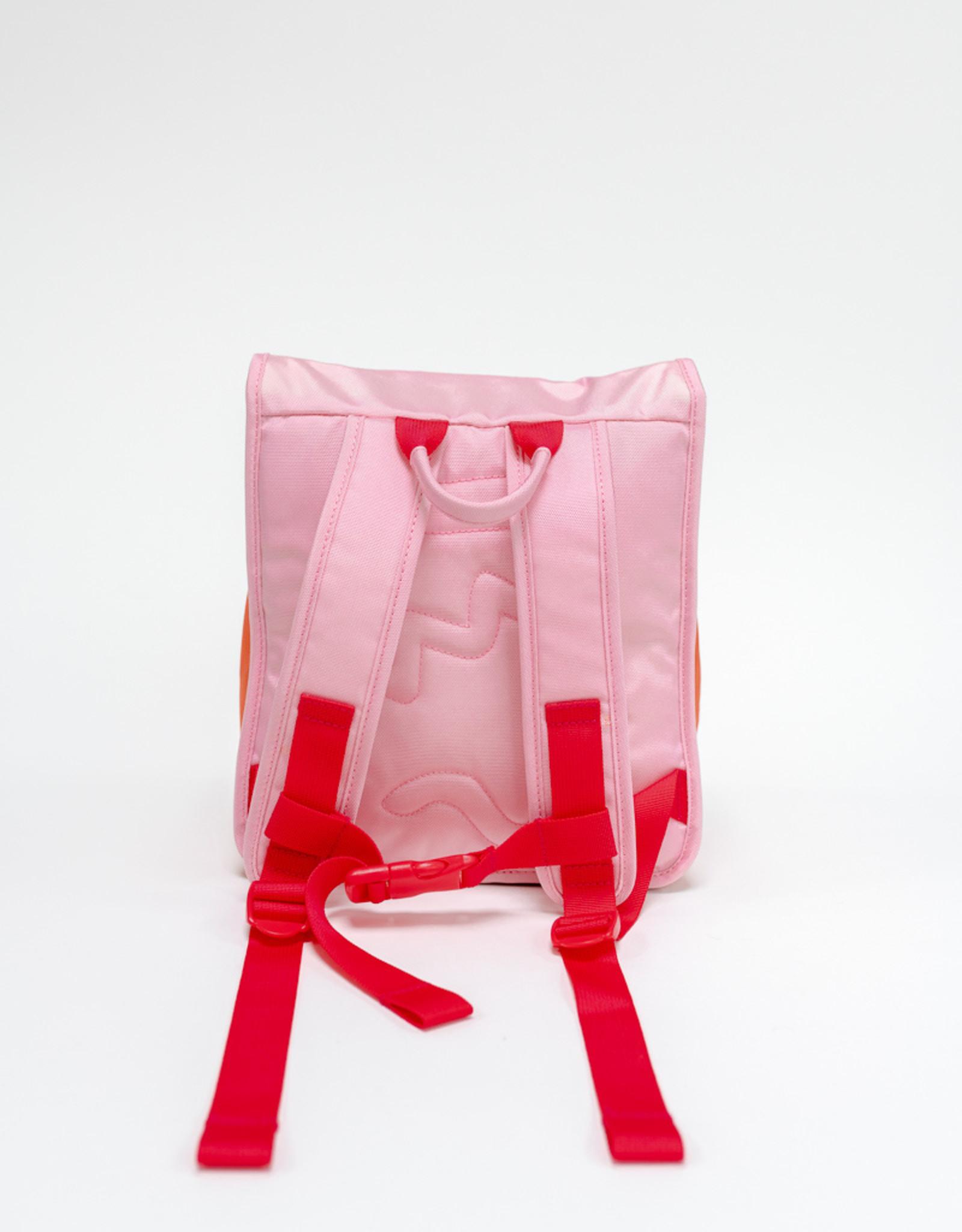 Craekker Jay Backpack Pink/Orange/Fuchsia