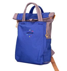 Craekker Magpie Bag Blue/Green/Ochre