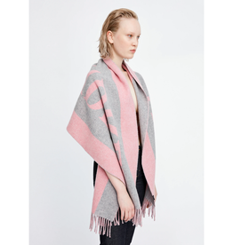 Vanessa Scarf Pink/grey