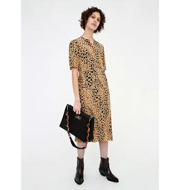 Ivy Dress Brown Leopard