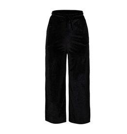 Velours Pants Black