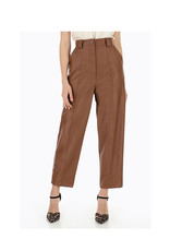 Faux Leather Balloon Trousers