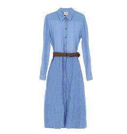 Dress + Belt Blue
