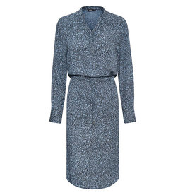 Zaya Dress LS Blue