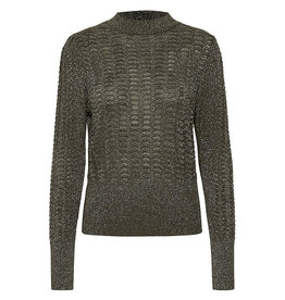 Soaked in Luxury SOAKED IN LUXURY AIKO PULLOVER GLITTER - BLACK