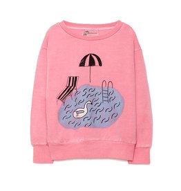 Pool Sweatshirt Pink