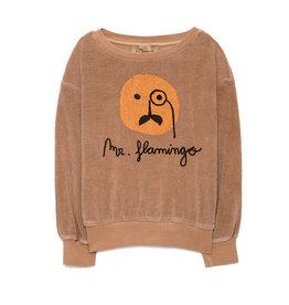Flamingo Sweatshirt Camel