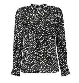 Livia Blouse Black/White