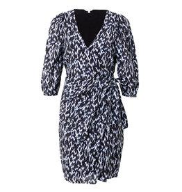 Dannell Dress Blue Print