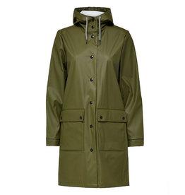 Rainie Rain Coat Green