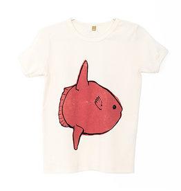 Retro Tee Moon Fish Off White