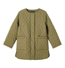 Mathilda Quilt Jacket Green
