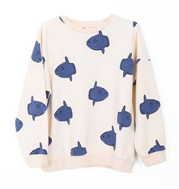 Sweatshirt Moon Fishes Off White