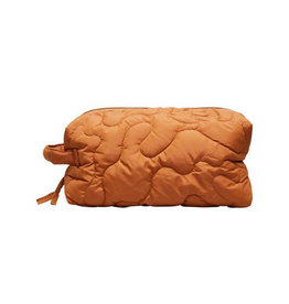 Selected Femme SELECTED FEMME TOMINE QUILTED TOILETRY - BROWN
