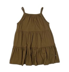 Cos i said so Layered Dress Brown