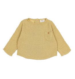 Buho Mini Dots Blouse Yellow