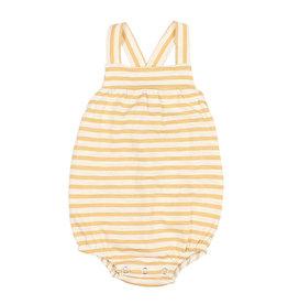Buho Stripes Romper White/Yellow