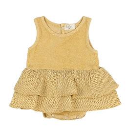 Buho Mini Dots Combi Dress Sun