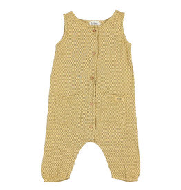 Buho Mini Dots Jumpsuit Yellow
