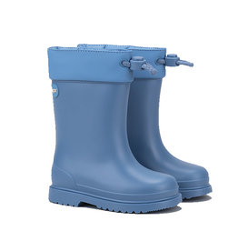 Chufo Rainboots Fur Blue