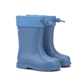 IGOR CHUFO BOOTS FUR - BLUE
