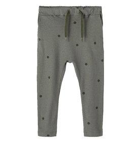 Danien Pants Dark Grey/Dots