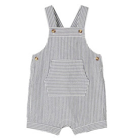 Filur Short Overall Stripe Blue