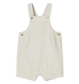 Filur Short Overall Stripe Beige