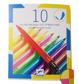 Felt Tip Brush Pens