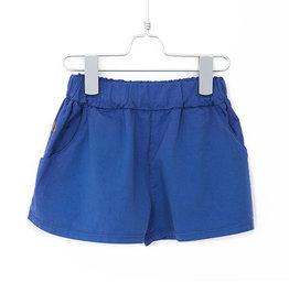 Wide Shorts Indigo Blue