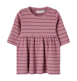 Dicte Dress Stripe/Pink