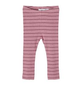 Dicte Legging Stripe/Pink
