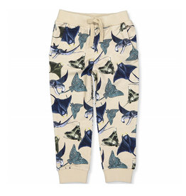 Faray Sweatpants Sea Animals/Beige