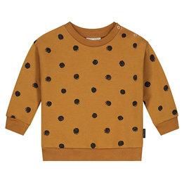 Mini Painted Sweater Sandstone