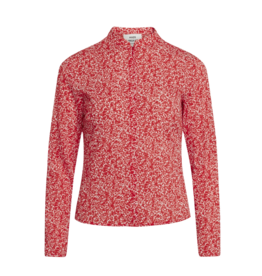 Bossa Blouse Floral/Red