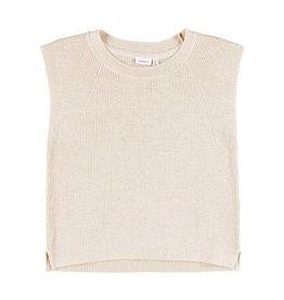 Halea Knitted Vest Beige
