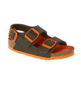 Milano Shoes Green/Orange