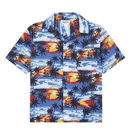 Ohahu Shirt Palmtree/Blue