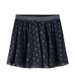 Farika Tulle Skirt Blue