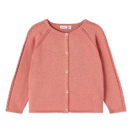 Hilia Knit Cardigan Pink