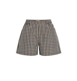 Sloan Short Brown Check