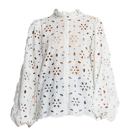 Abna Blouse White