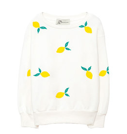 Lemon Sweater White