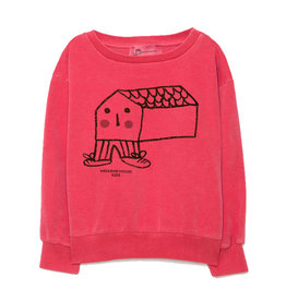 House Sweater Red