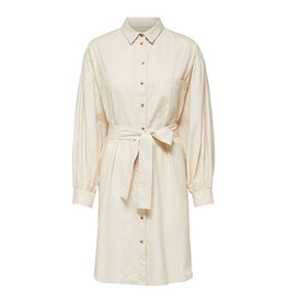 Cecile Shirt Dress Beige