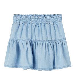 Becky Denim Skirt Blue