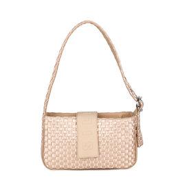 Silfen Studio Yasmin Shoulder Bag Champagne