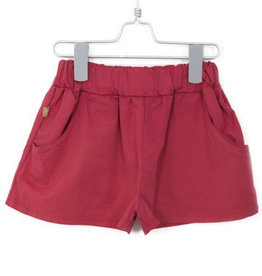 Wide Shorts Red