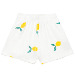 Lemon Shorts White